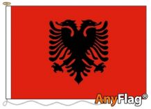 - ALBANIA ANYFLAG RANGE - VARIOUS SIZES